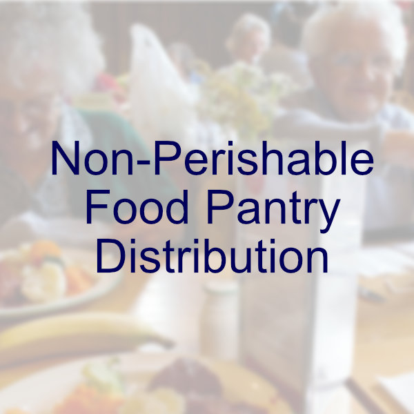 Non-Perishable Food Pantry Distribution